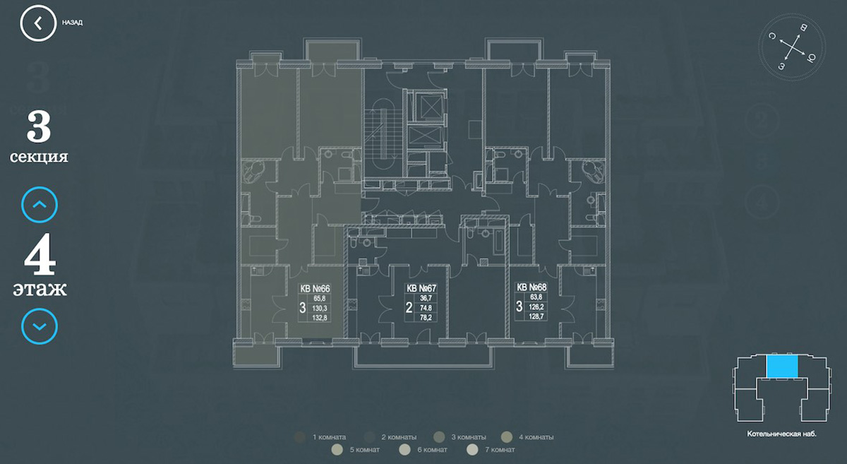 Planimetria di progetto originale del costruttore