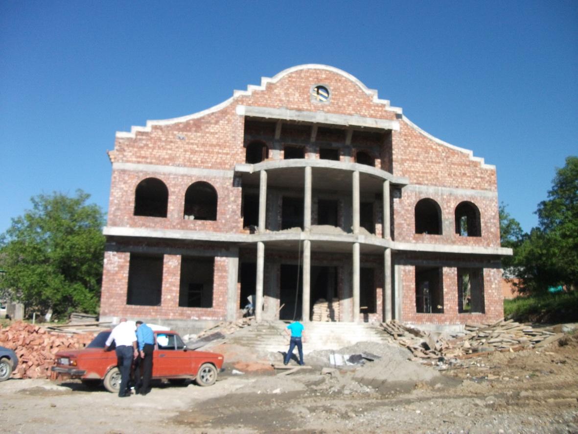 La villa cecena come si presenta durante la prima visita