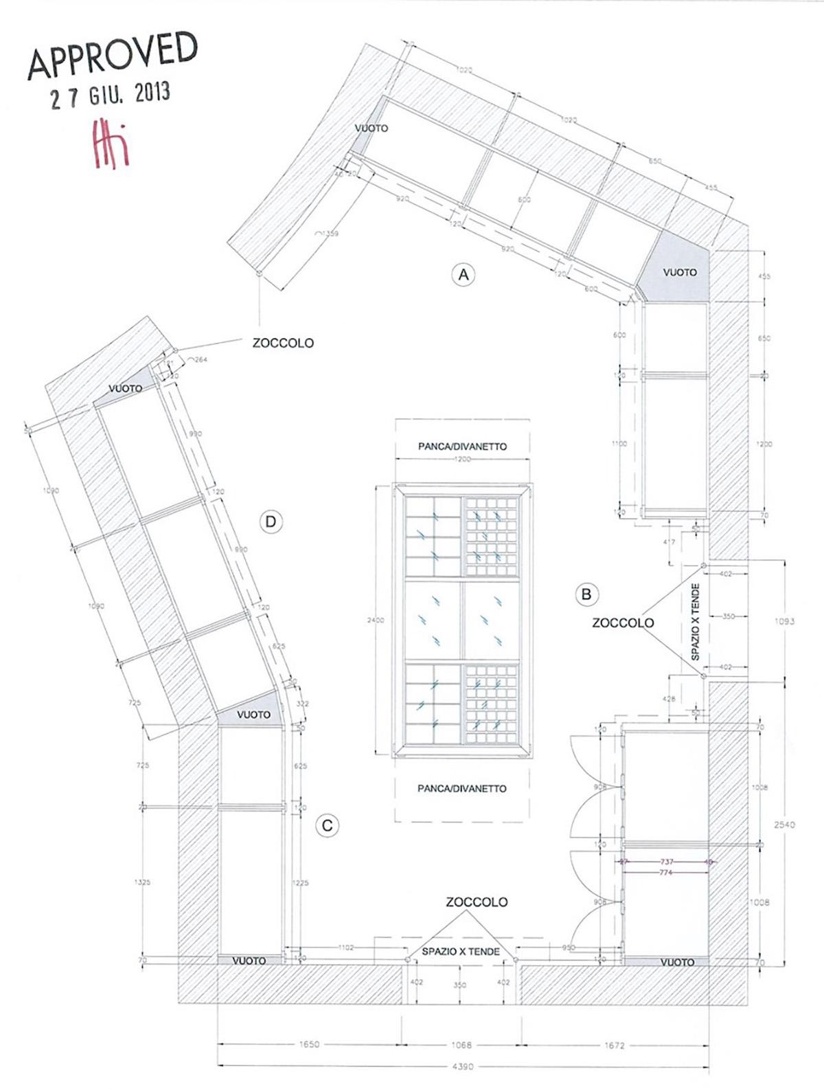 Planimetria progetto HAM-Flavio Taietti