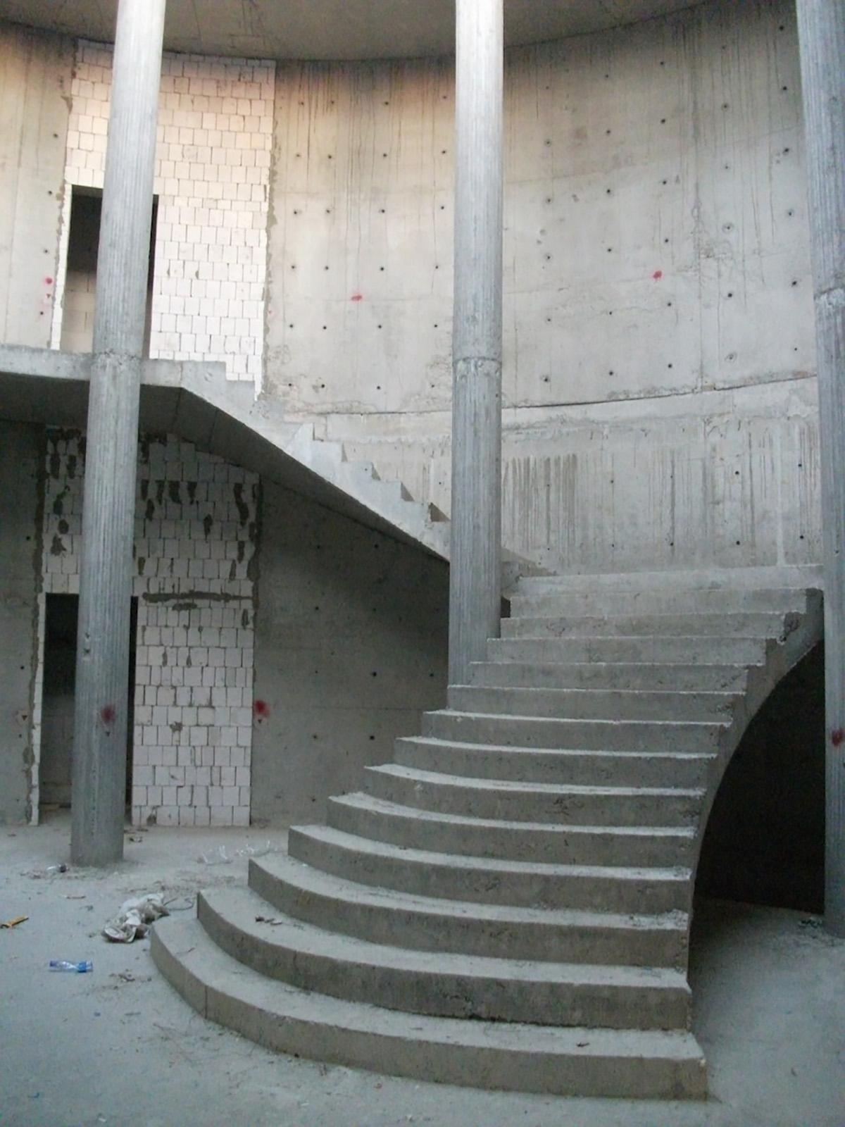 La hall di ingresso (situazione alla 1a visita)