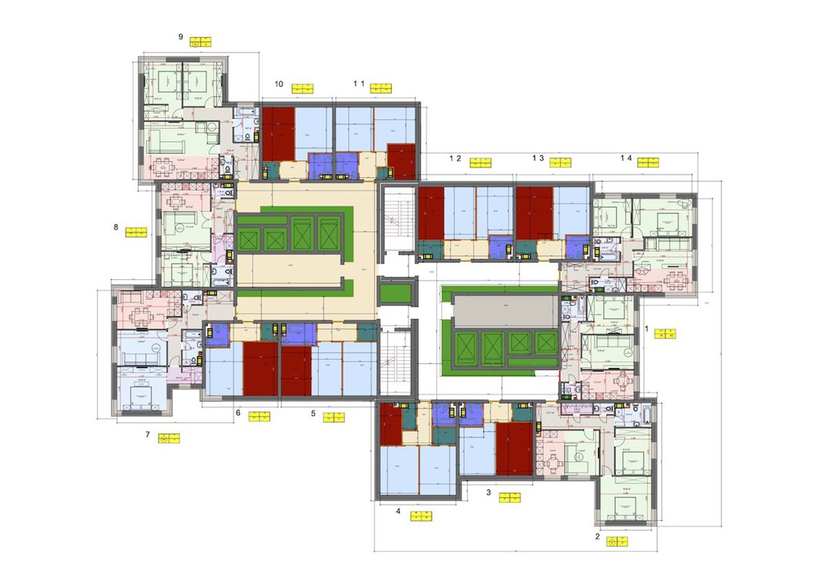 Appartamento_2: planimetria Krost
