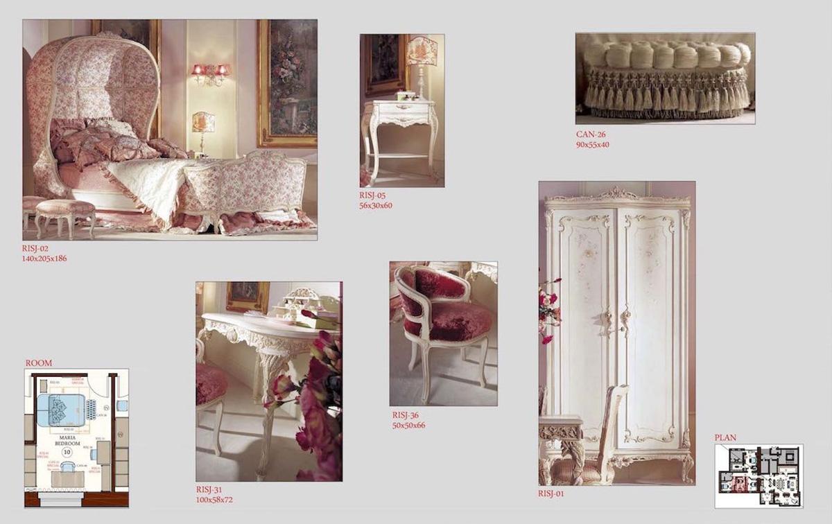 Selezione dei mobili per girl bedroom