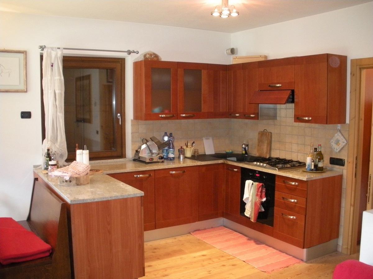 Situazione della cucina prima dei lavori