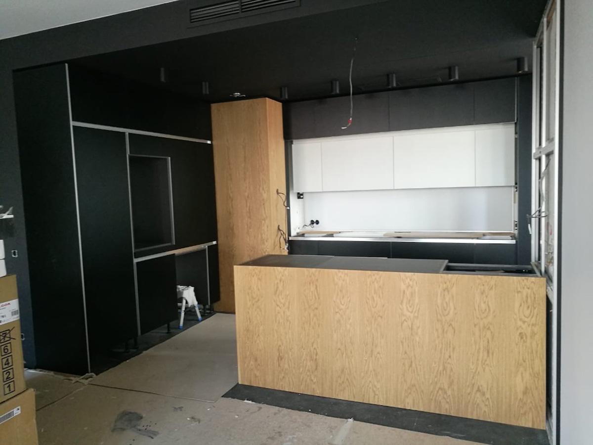 La cucina in progress
