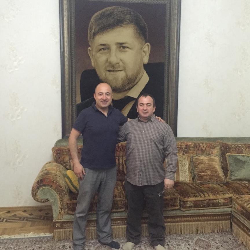 architetto flavio taietti con collega russo