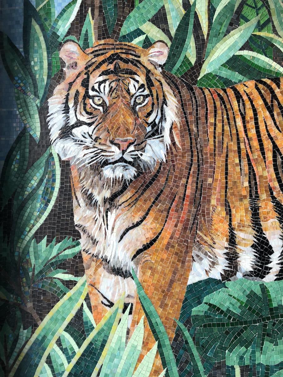 mosaico di tigre by sicis