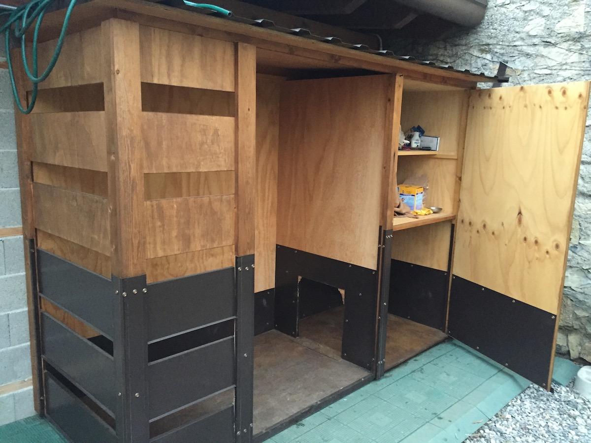 Casetta con storage